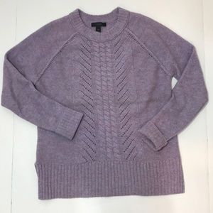 J Crew wool Crew Neck Sweater XXS EUC